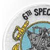 6th Special Mobile Construction Battalion Patch | Upper Left Quadrant