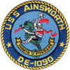 DE-1090 USS Ainsworth Patch Destroyer Escort