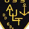 DD-698 USS Ault Patch   Center Detail