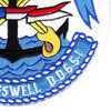 DD-651 USS Cogswell Patch | Lower Right Quadrant