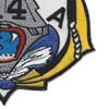 CVA-14 USS Ticonderoga Patch | Lower Right Quadrant