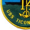 CV-14 USS Ticonderoga Patch | Lower Left Quadrant