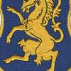 6th Cavalry Regiment Patch   Center Detail