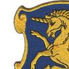 6th Cavalry Regiment Patch   Upper Left Quadrant