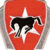 6th Cavalry Brigade Crest Patch   Center Detail
