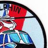 HH-65 Dolphin Rescue Law Enforcement Patch | Upper Right Quadrant
