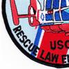 HH-65 Dolphin Rescue Law Enforcement Patch | Lower Left Quadrant