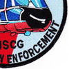 HH-65 Dolphin Rescue Law Enforcement Patch | Lower Right Quadrant