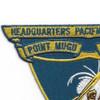 Headquarters Pacific Missile Range Point Mugu California Patch | Upper Left Quadrant