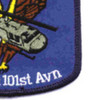 6th Battalion 101st Aviation Regiment Patch | Lower Right Quadrant