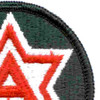 6th Army Patch Shoulder | Upper Right Quadrant