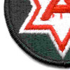 6th Army Patch Shoulder | Lower Left Quadrant