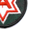 6th Army Patch Shoulder | Lower Right Quadrant