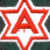 6th Army Patch Shoulder | Center Detail