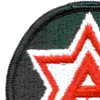 6th Army Patch Shoulder | Upper Left Quadrant