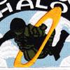 HALO Parachutist Instructor Patch | Center Detail
