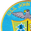 DD-885 USS John R Craig Patch - Version B | Upper Left Quadrant