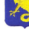 69th Infantry Regiment Patch Conjunctis Viribus   Lower Left Quadrant