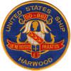 DD-861 USS Harwood Patch