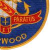 DD-861 USS Harwood Patch | Lower Right Quadrant