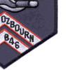 DD-846 USS Ozbourn Patch - Version A | Lower Right Quadrant