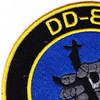 DD-840 USS Glennon Patch - Version A | Upper Left Quadrant