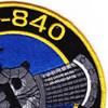 DD-840 USS Glennon Patch - Version A | Upper Right Quadrant