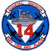 COSDIV-14 Coastal Division Fourteen Patch