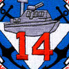 COSDIV-14 Coastal Division Fourteen Patch | Center Detail