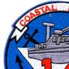 COSDIV-14 Coastal Division Fourteen Patch | Upper Left Quadrant