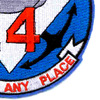 COSDIV-14 Coastal Division Fourteen Patch | Lower Right Quadrant