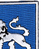 68th Infantry Regiment Patch   Upper Right Quadrant