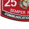 Communication Officer 2502 MOS Patch | Lower Left Quadrant