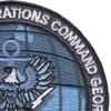 Commander Tenth Fleet Information Operations Command Georgia Patch | Upper Right Quadrant
