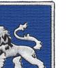 68th Armor Tank Regiment Patch   Upper Right Quadrant