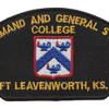 Command And General Staff College Patch | Center Detail