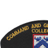 Command And General Staff College Patch | Upper Left Quadrant