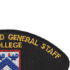 Command And General Staff College Patch | Upper Right Quadrant