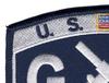 Coast Guard-GM-Gunner's Mate MOS Patch