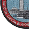 Coast Guard National Capital Region Air Defense Facility Patch | Lower Left Quadrant