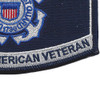 Coast Guard DAV Disabled American Veteran Rating Patch | Lower Right Quadrant