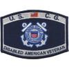 Coast Guard DAV Disabled American Veteran Rating Patch