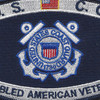 Coast Guard DAV Disabled American Veteran Rating Patch | Center Detail