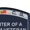Coast Guard Daughter of a Vietnam Veteran Patch   Upper Right Quadrant