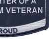 Coast Guard Daughter of a Vietnam Veteran Patch   Lower Right Quadrant