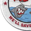 Coast Guard Aviation Patch We'll Save Yours | Lower Left Quadrant