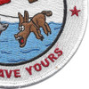Coast Guard Aviation Patch We'll Save Yours | Lower Right Quadrant