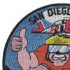 Coast Guard AST's San Diego SAR DOGS Patch | Upper Left Quadrant
