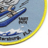 Coast Guard Air Station St. PETERSBURG, Florida Patch | Lower Right Quadrant
