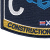 CM Construction Mechanic Rating Patch Seabee | Lower Left Quadrant